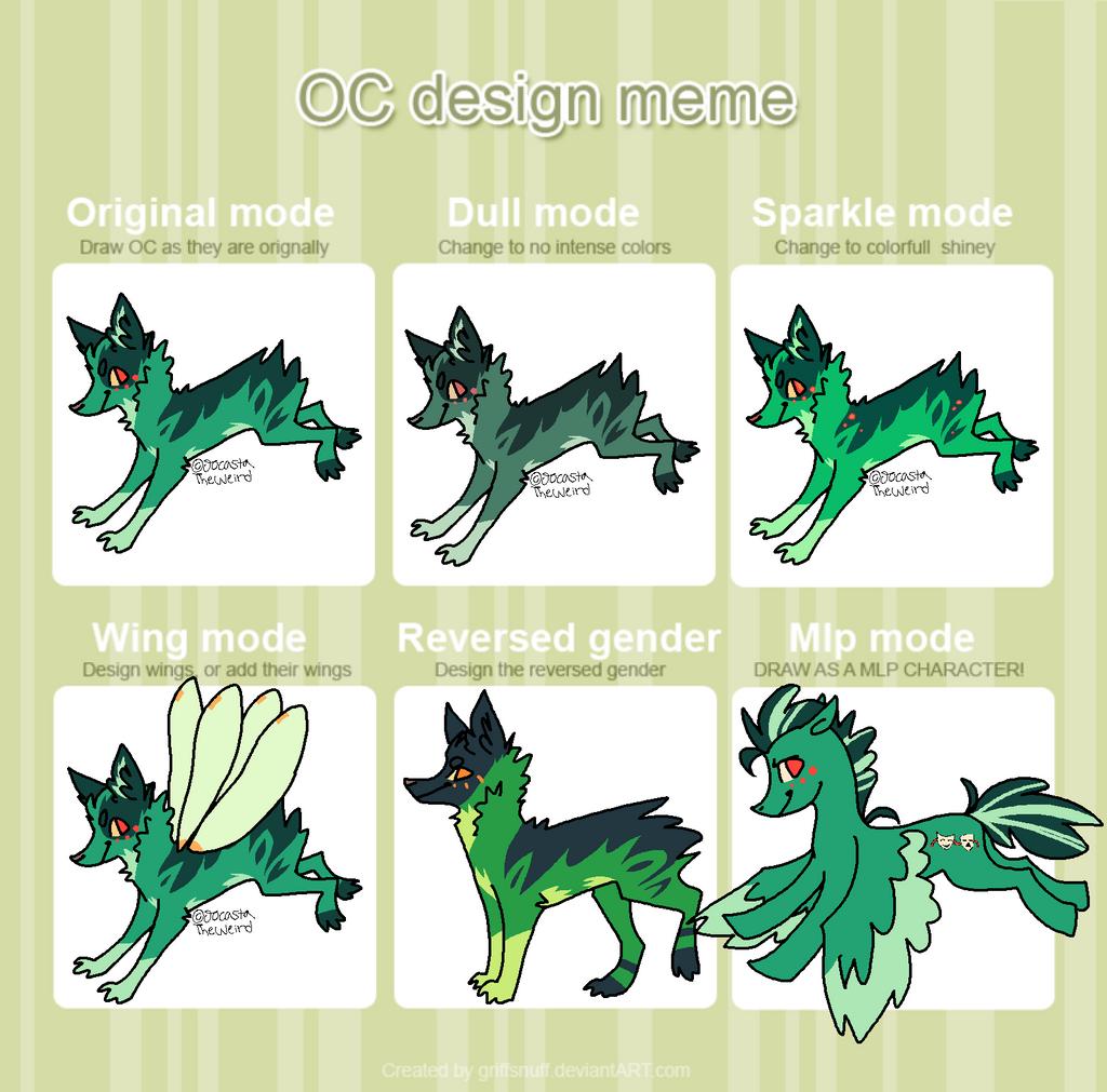 Character Design Meme : Oc design meme by homeqrown on deviantart