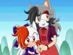 Sonic X Recolor: Towa + San