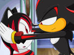 Sonic X Recolor: Shadow x Ashley