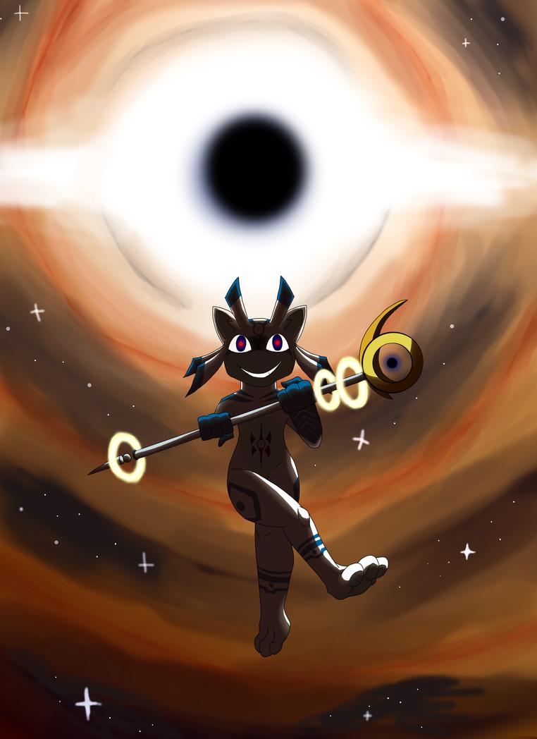 :My best friend is a black hole: by Helen-M123