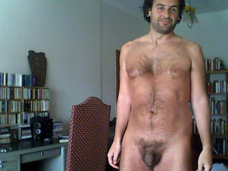 me naked, showing my small penis by heuter