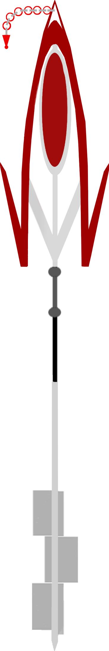 Nongenti Funera - Fanmade Key Blade by HYPERJOSEPH