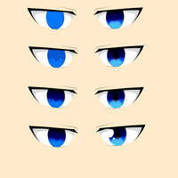How I color eyes by SexualBreadNinja
