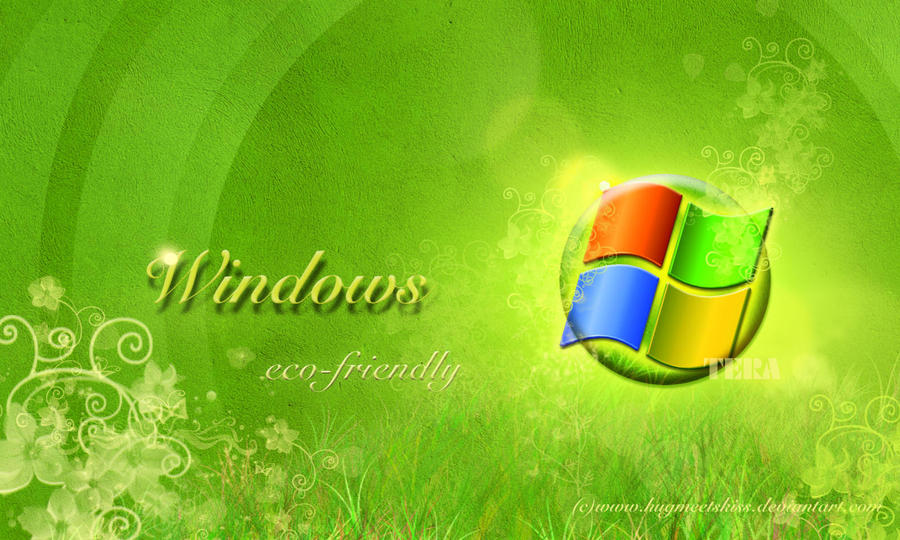 Windows Eco Friendly By Hugmeetskiss On Deviantart