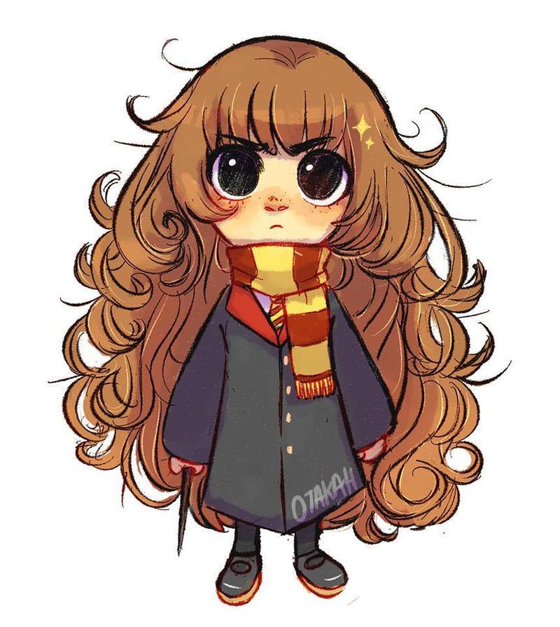 Chibi Hermione Granger by DanoiKurusu