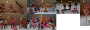 My Figures by prettycure97