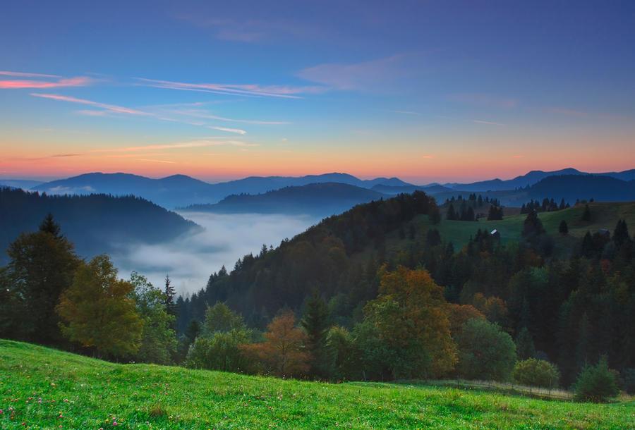 Autumn landscape. by lica20