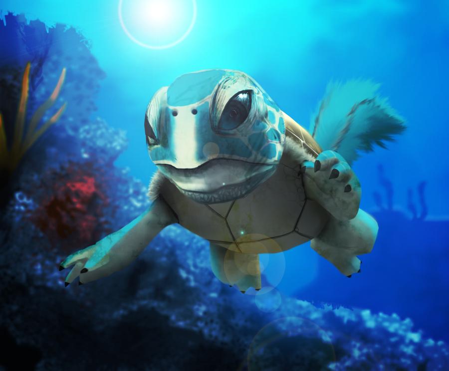 Realistic Squirtle by AdmiralJCB on DeviantArt