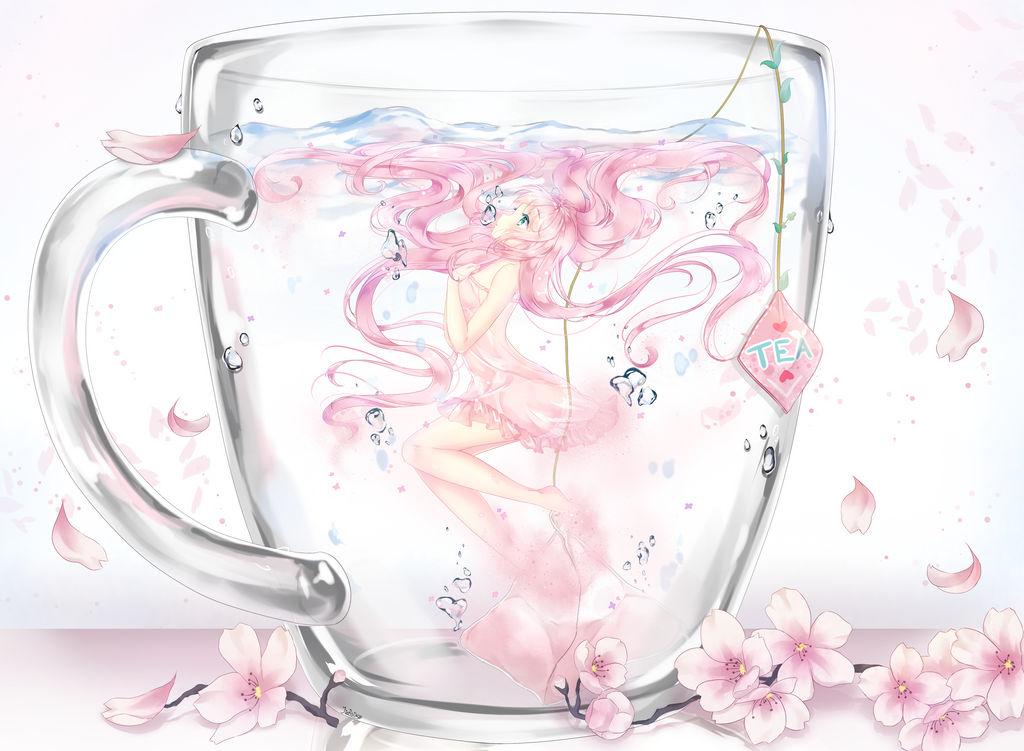 Cherry Tea .:SPEEDPAINT:.