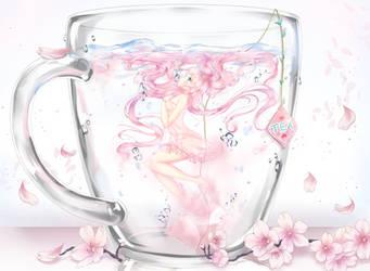 Cherry Tea .:SPEEDPAINT:. by Jianaiko