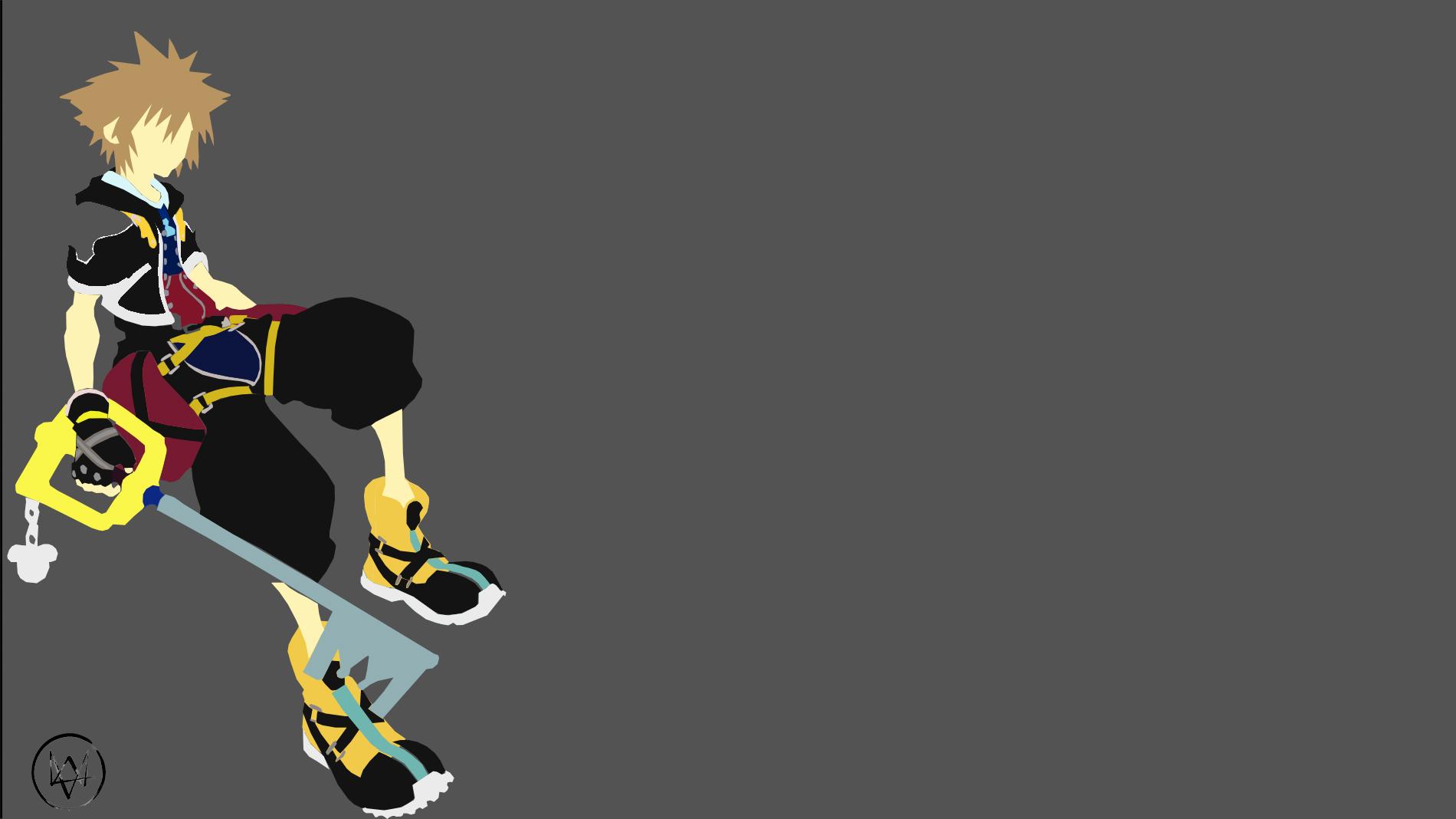 Sora (Kingdom Hearts) Minimalist by Lucifer012 on DeviantArt