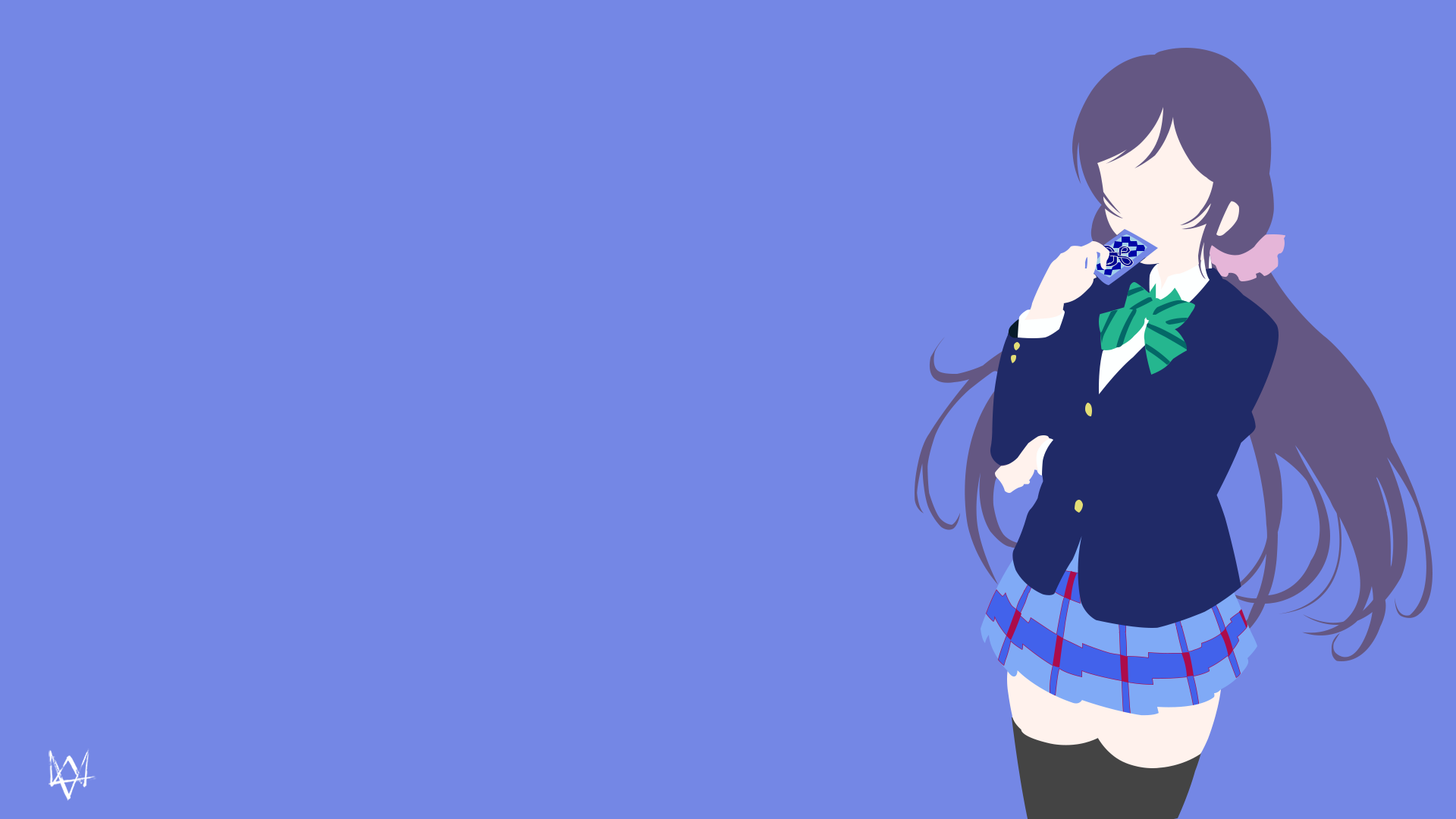 Nozomi Tojo (Love Live!) Minimalist Wallpaper by Lucifer012 on DeviantArt