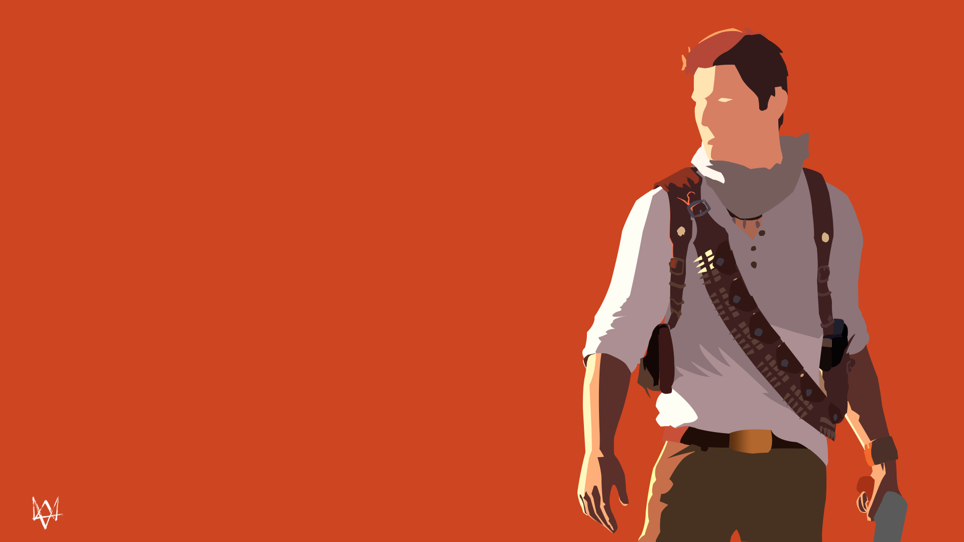 Nathan Drake Uncharted Series Minimalist By Lucifer012 On Deviantart