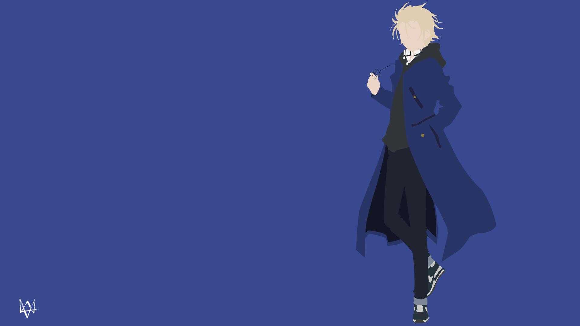 Black (Kekkai Sensen) Minimalist by Lucifer012 on DeviantArt