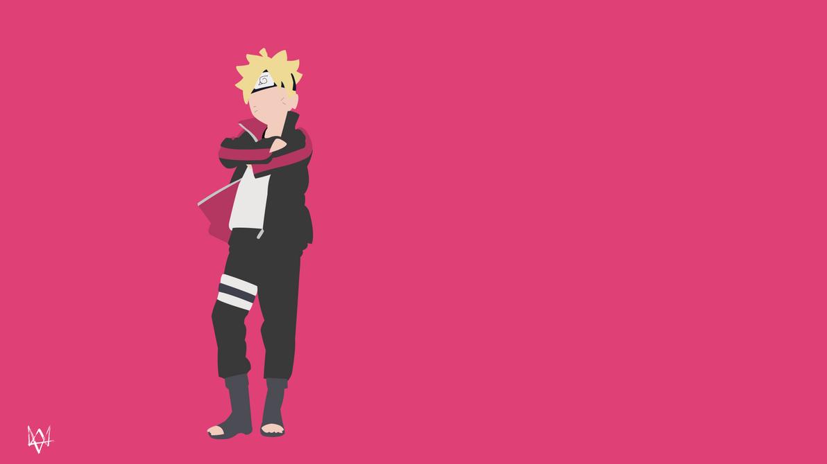 Popular Wallpaper Naruto Deviantart - boruto_uzumaki__naruto__minimalist_wallpaper_anime_by_lucifer012-d93nzst  HD_808097.png