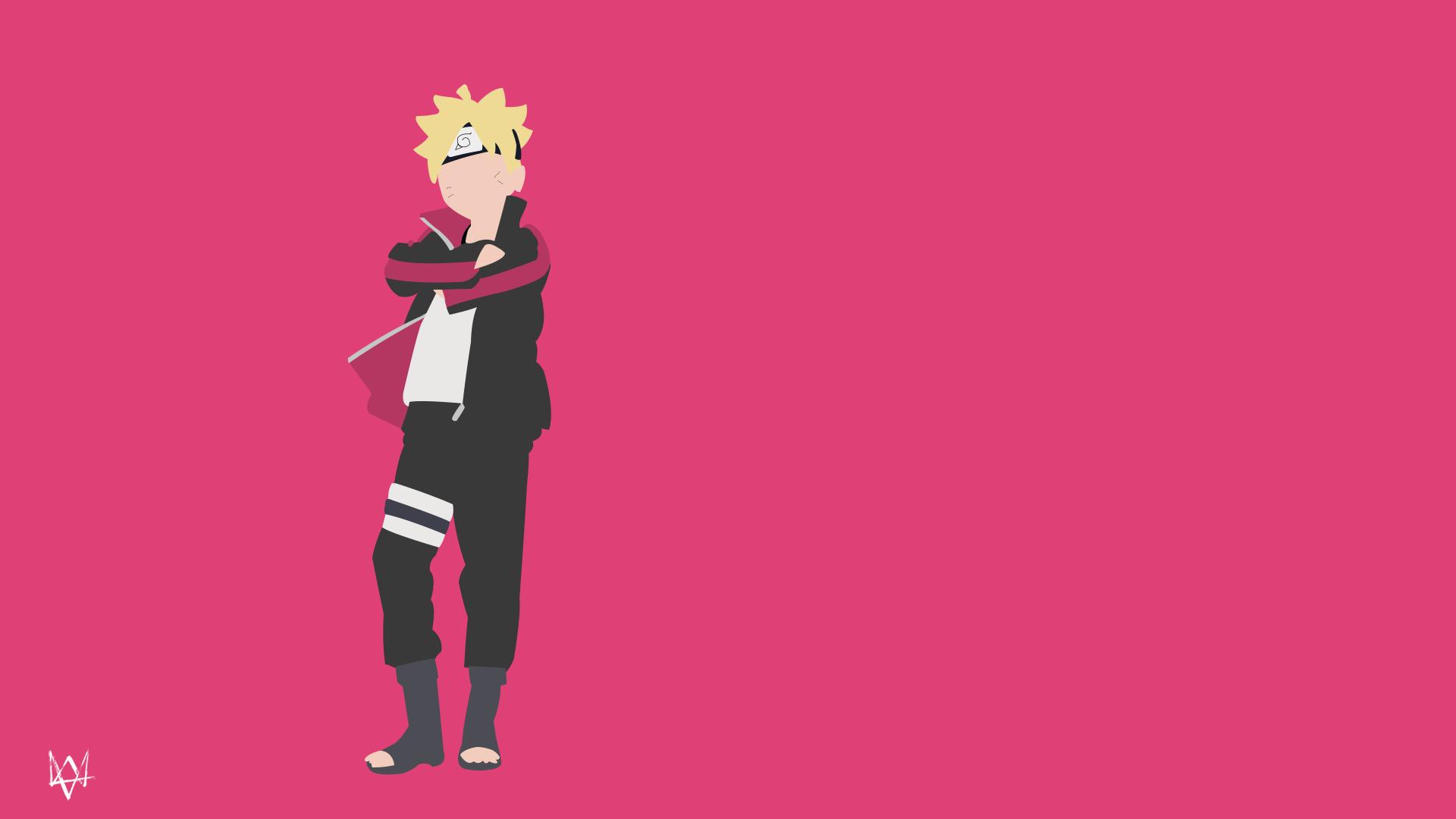 Boruto Uzumaki Naruto Minimalist Wallpaper Anime By