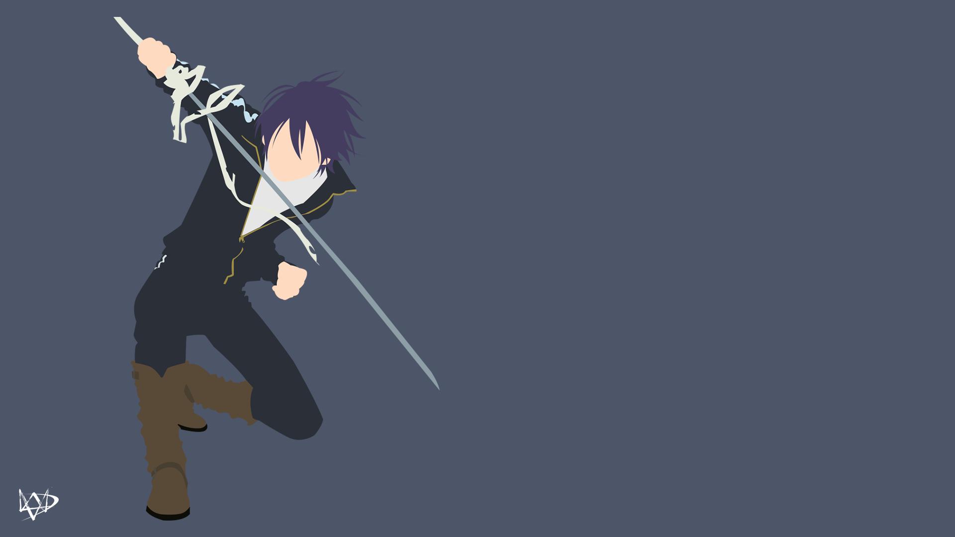 Yato (Noragami Aragoto) Minimalist Anime Wallpaper by ...