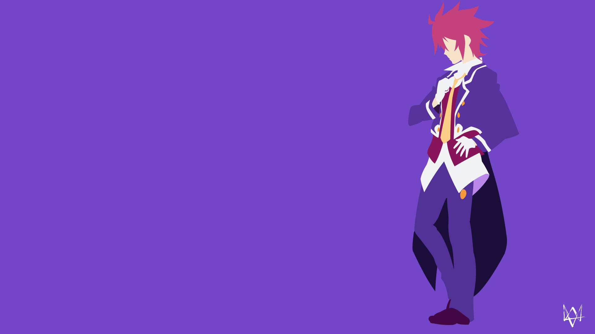 Sora no game no life minimalist anime wallpaper by for Deviantart minimal wallpaper
