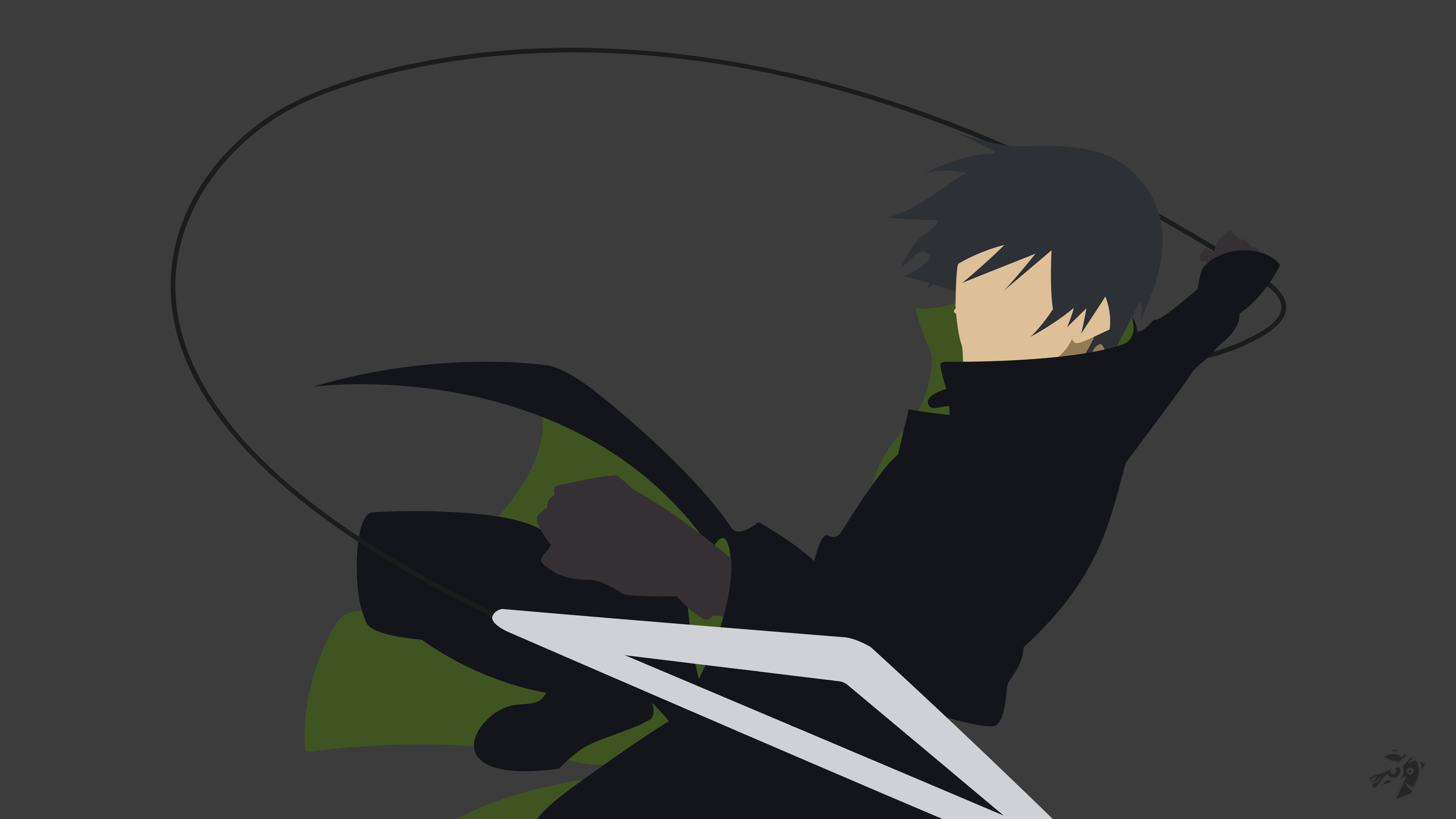 Hei Darker Than Black Minimalist Anime Wallpaper By Lucifer012