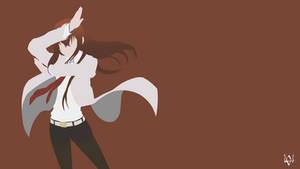 Makise Kurisu (Steins Gate) Minimalist Anime WP