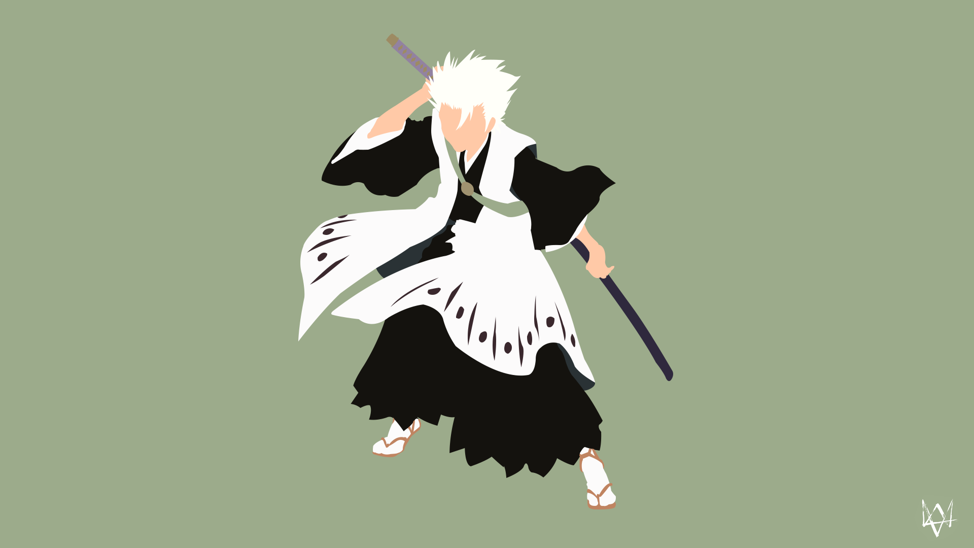 Toshiro Hitsugaya (Bleach) Minimalist Anime by Lucifer012 ...