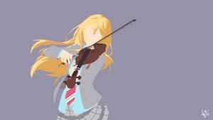 Kaori Miyazono| Shigatsu wa Kimi no Uso Minimalism by Lucifer012