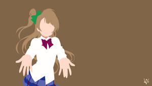 Kotori Minami | Love Live Minimalist Anime by Lucifer012