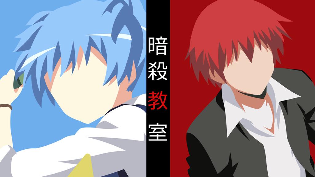 Minimalist Classroom Wallpaper ~ Ansatsu kyoushitsu collab minimalist anime by lucifer