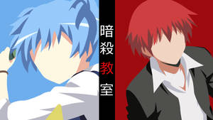 Ansatsu Kyoushitsu Collab | Minimalist Anime