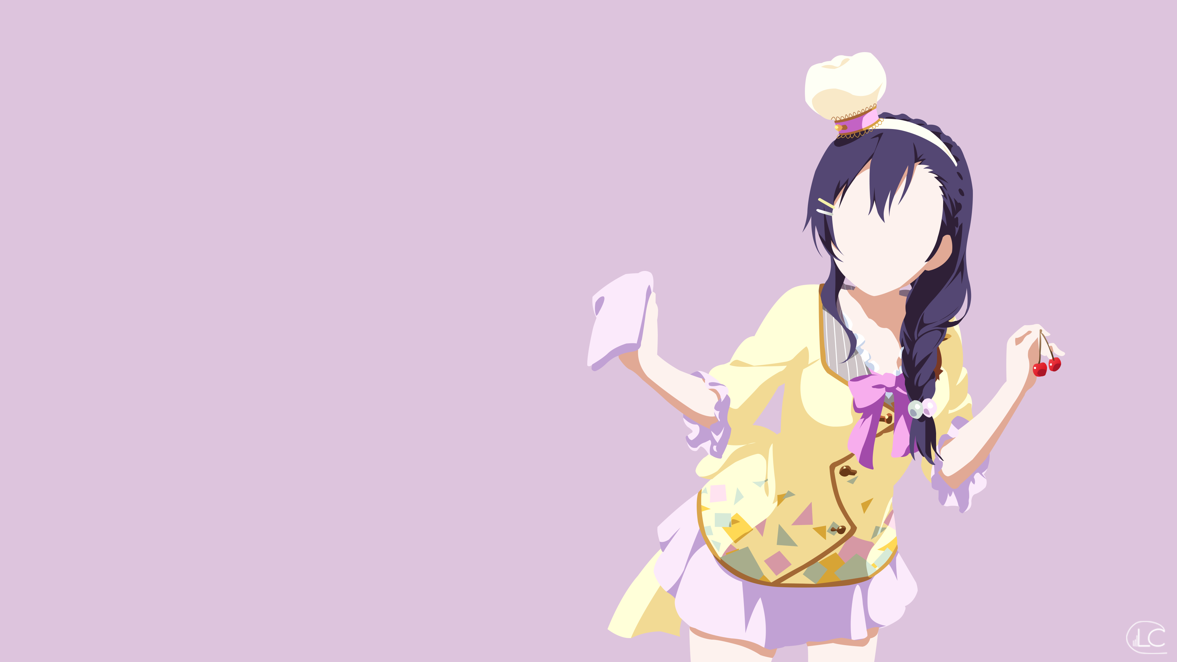 Wallpaper Love Live Tumblr : Nozomi Tojo Love Live Minimalist Anime by Lucifer012 on ...