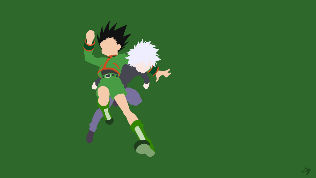Gon Killua | Hunter x Hunter Minimalist Anime by ...