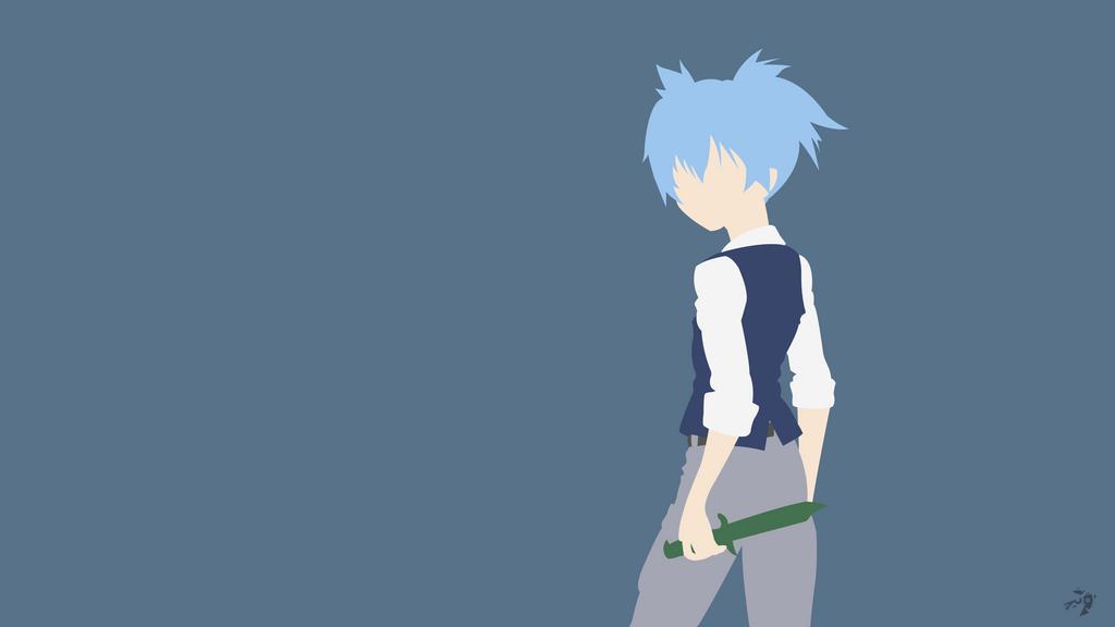 Assassination Classroom Minimalist Wallpaper ~ Nagisa shiota ansatsu kyoshitsu minimalist anime by
