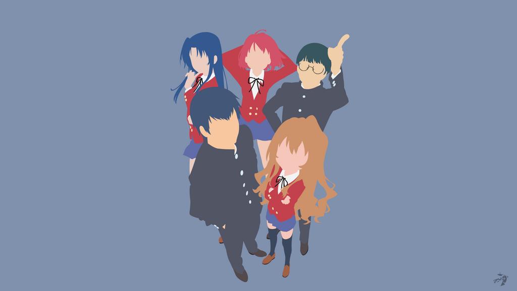 Toradora Minimalist Anime by Lucifer012 on DeviantArt