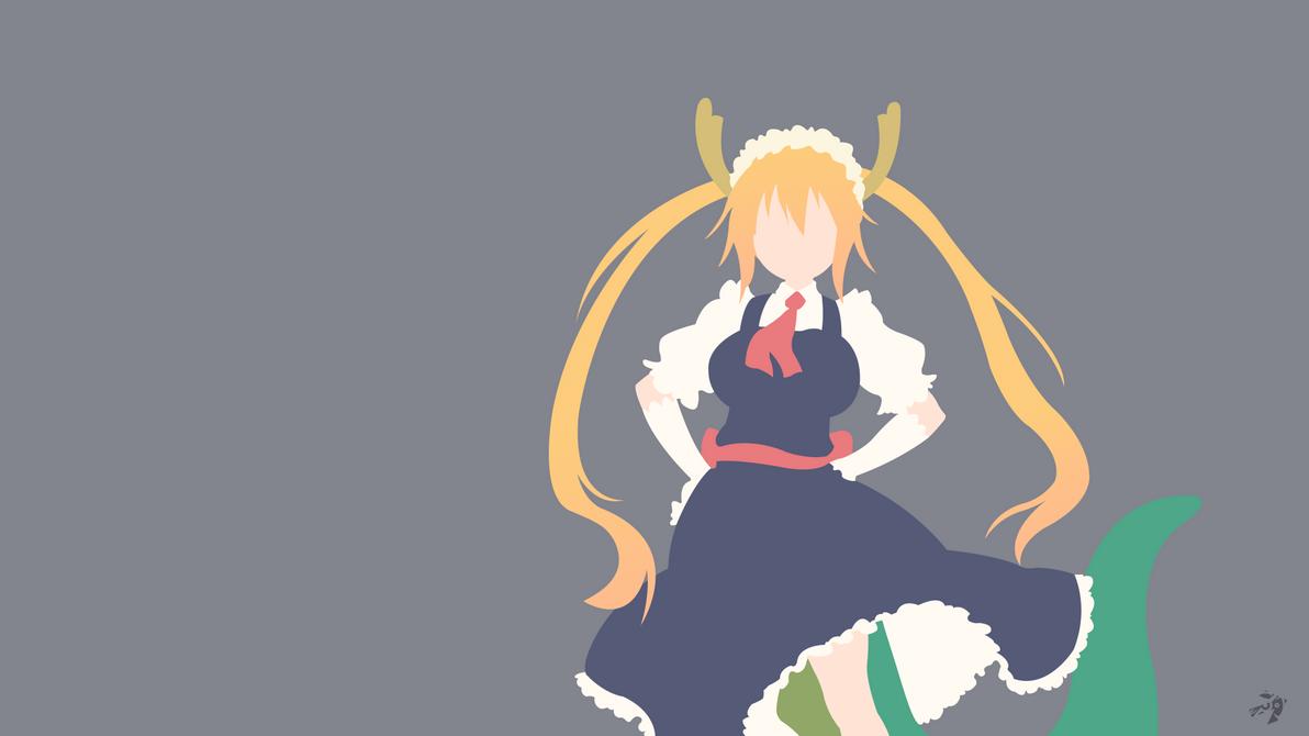 Kobayashi-san Chi No Maid Dragon Minimalis By