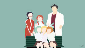 Demi-chan wa Kataritai Minimalist Anime Wallpaper by Lucifer012