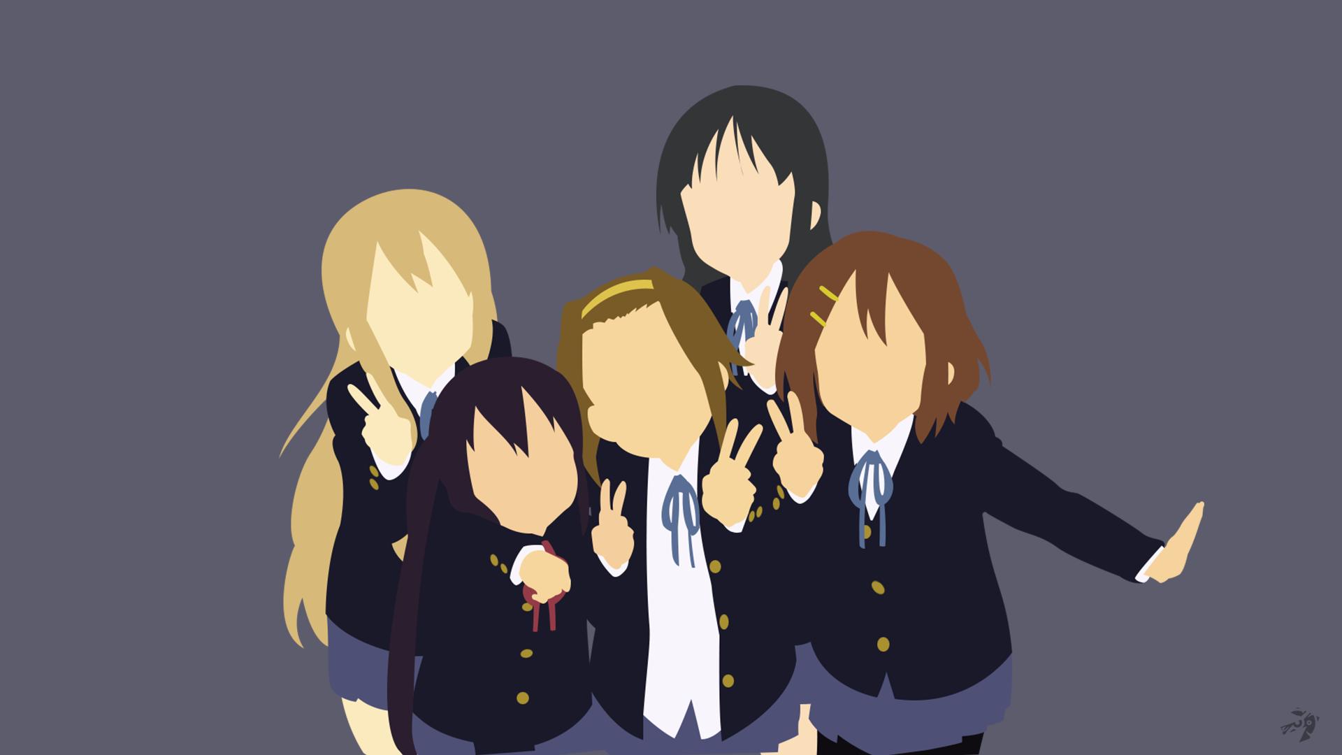 K-ON Minimalist Anime Wallpaper by Lucifer012 on DeviantArt