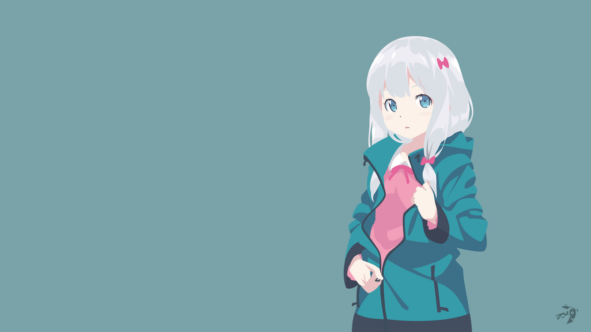 Sagiri Izumi V2   Eromanga Sensei Minimalist Anime by Lucifer012