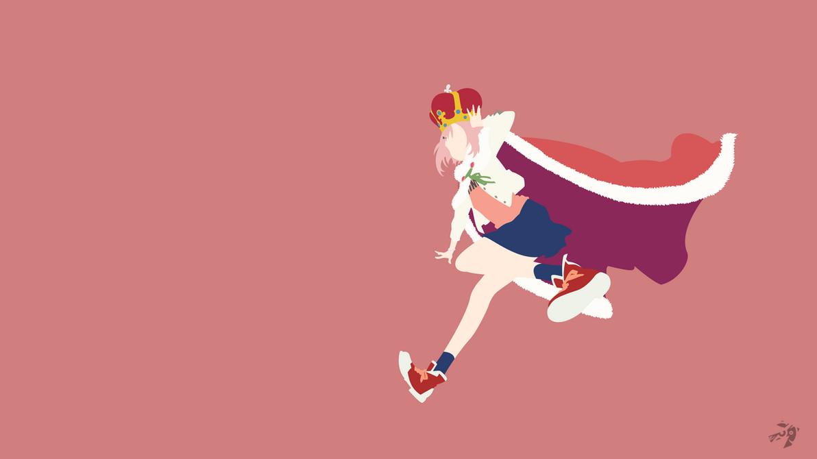 Yoshino Koharu   Sakura Quest Minimalist Anime by Lucifer012