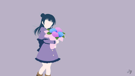 Tsushima Yoshiko   Love Live Sunshine Minimalist