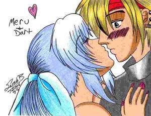 Dart and Meru by legendofdragoon