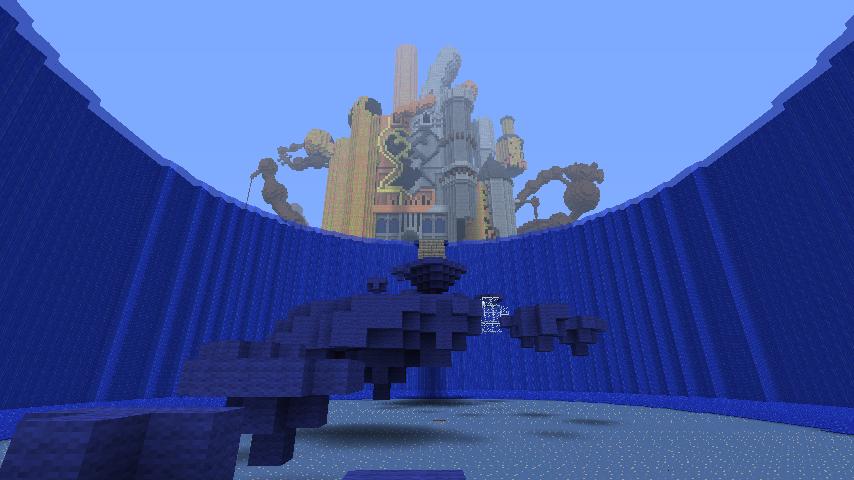 Minecraft Kingdom Hearts: Hollow Bastion by Zimfan508 on DeviantArt