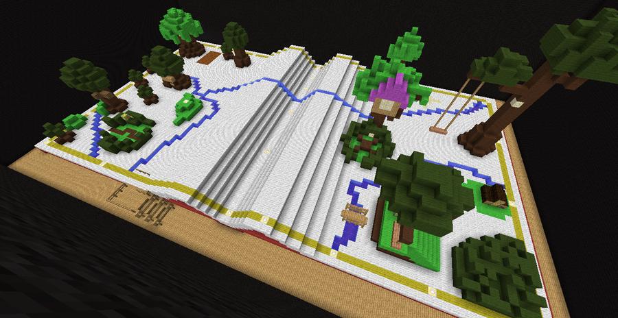Minecraft Kingdom Hearts: Hundred Acre Wood by Zimfan508 on DeviantArt