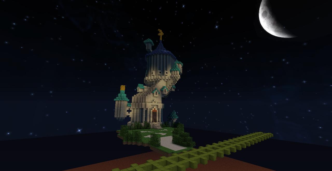 Minecraft Kingdom Hearts: Yen Sid\'s Tower by Zimfan508 on DeviantArt