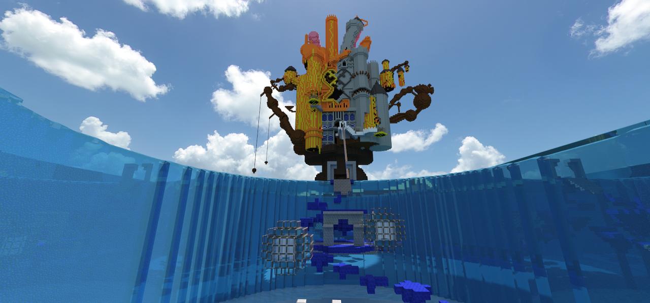 Minecraft Kingdom Hearts: Hollow Bastion FINAL by Zimfan508 on ...