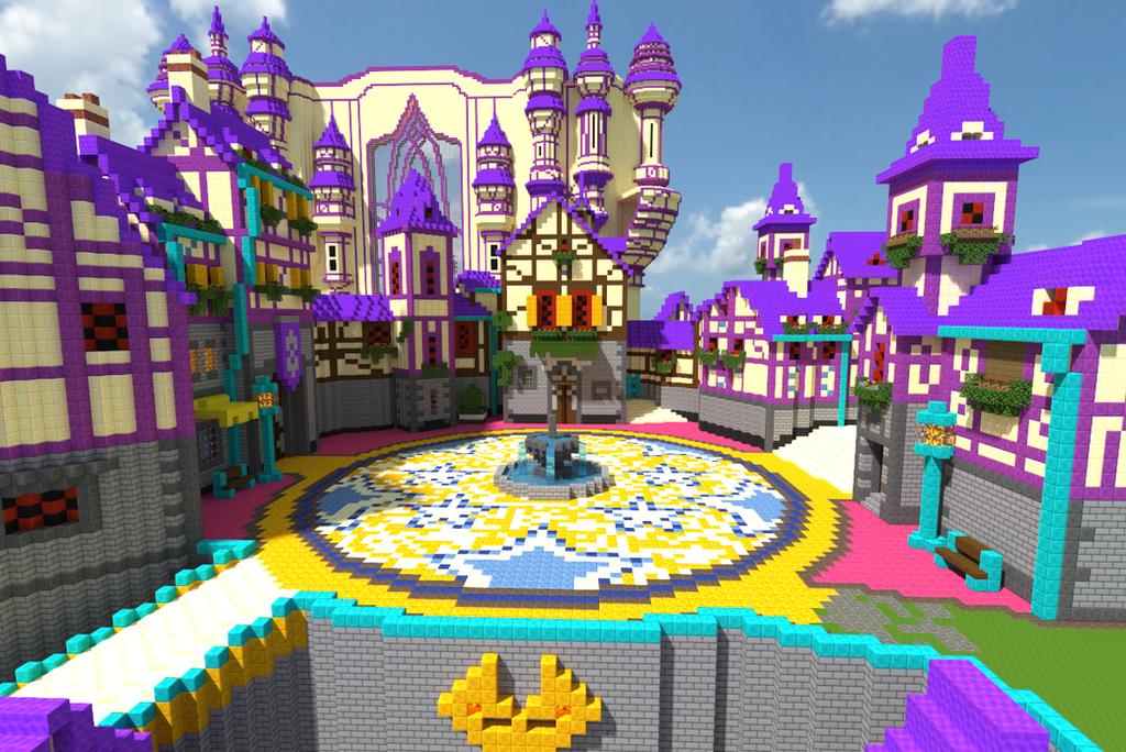Minecraft Kingdom Hearts: DayBreak Town 2 by Zimfan508 on DeviantArt