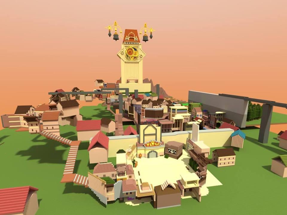 Minecraft Kingdom Hearts II: Twilight Town by Zimfan508 on ...