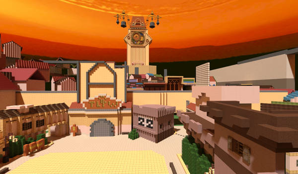 Minecraft Kingdom Hearts II: Twilight Town