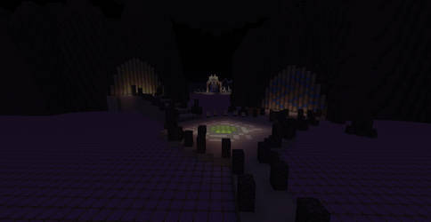 Minecraft Kingdom Hearts II: Underworld Entrance