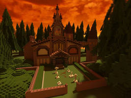 Minecraft Kingdom Hearts II: Twilight Town Mansion