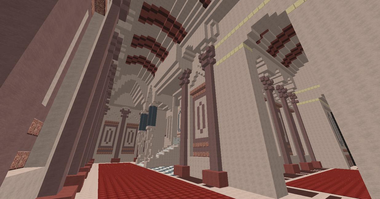 Minecraft Kingdom Hearts II: Beast\'s Castle by Zimfan508 on DeviantArt